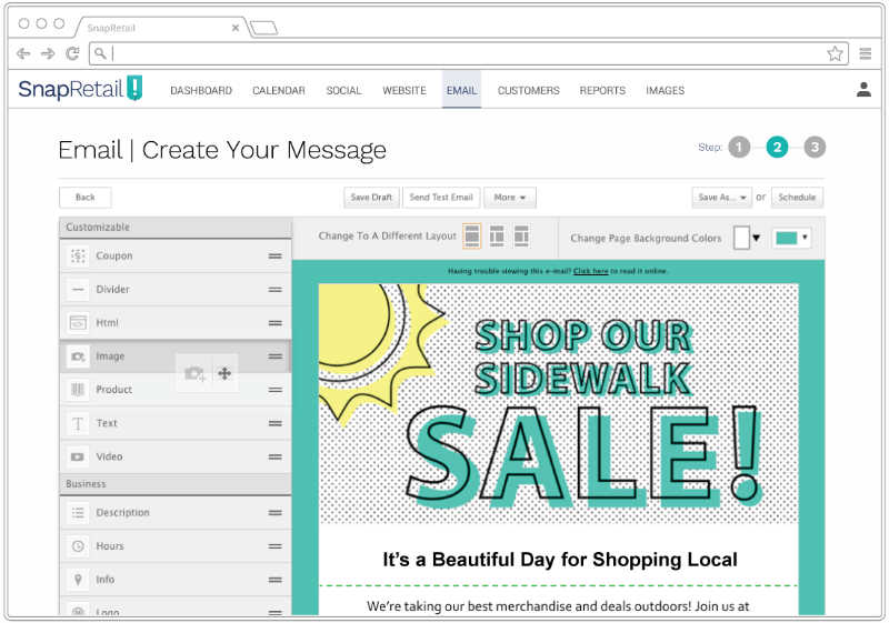 Customize our email templates for your small business