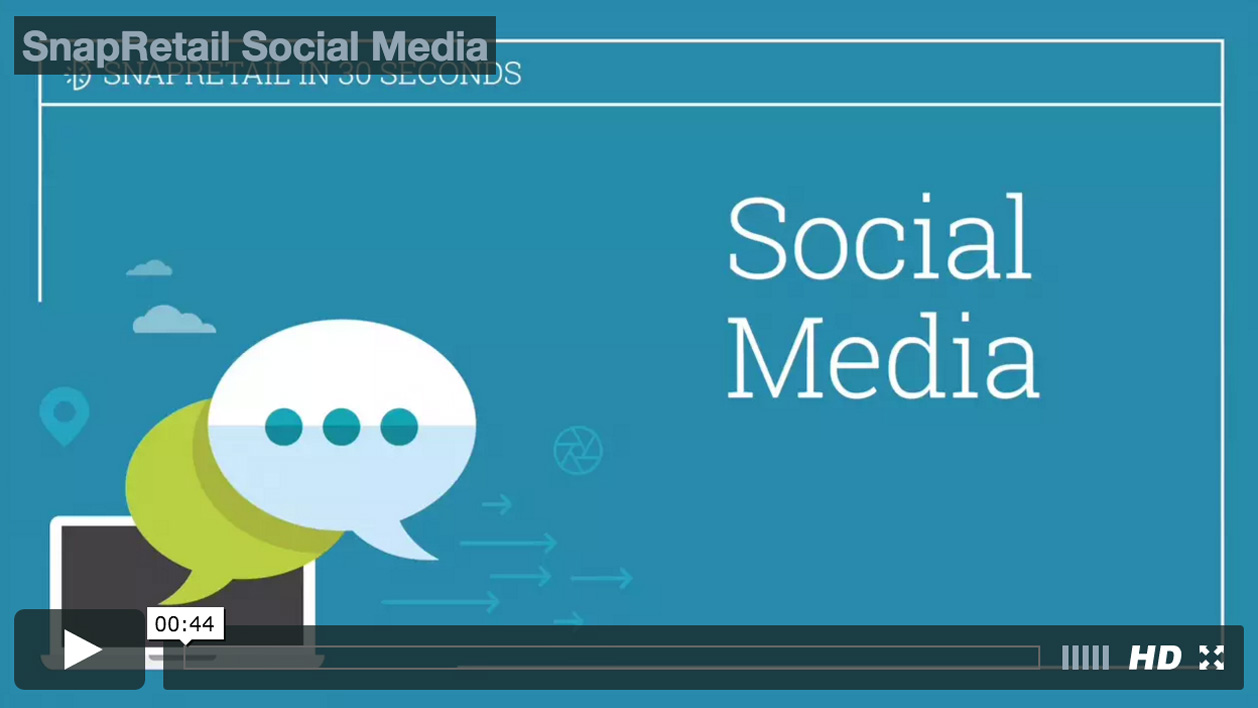 Schedule all your social media for Facebook, Twitter, Pinterest, and Instagram with SnapRetail for your small business
