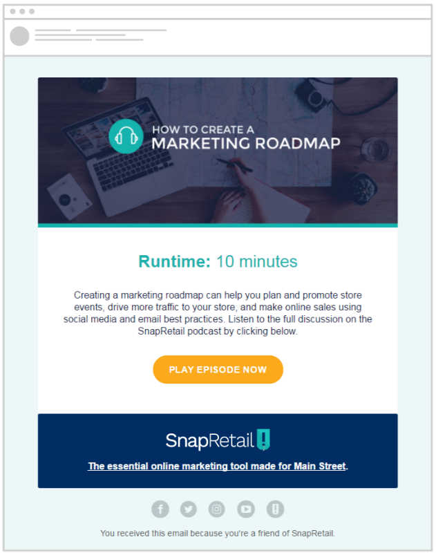 Develop a marketing roadmap for your small business