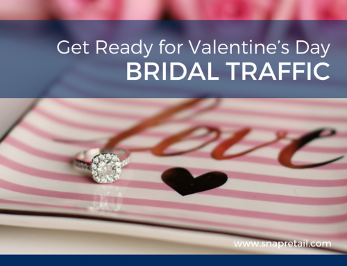 Get Ready for Valentine's Day Bridal Traffic