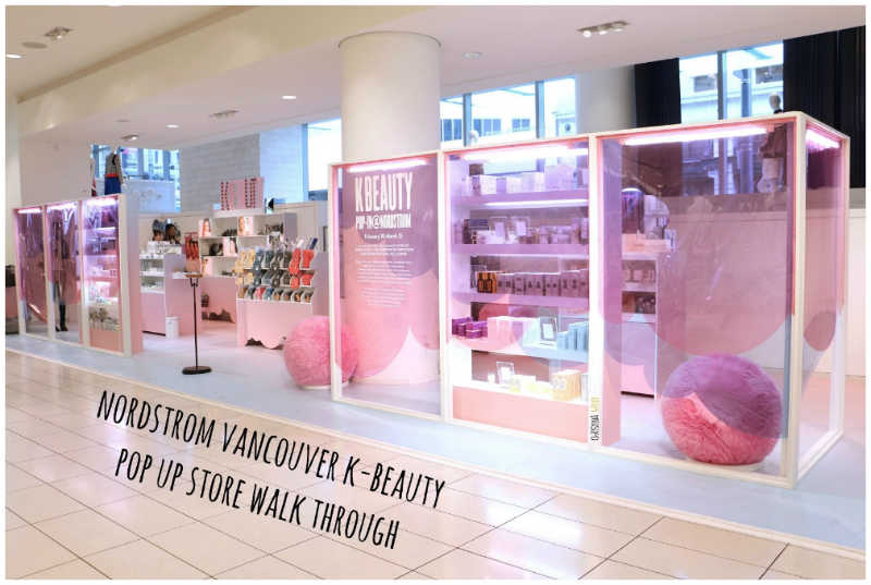 c462ce93a K-Beauty pop-up shop takes advantage of Nordstrom's reputation and brand  power
