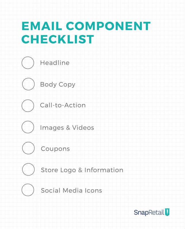 Email Component Checklist