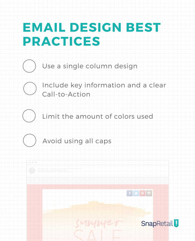 Email Design Best Practice Checklist