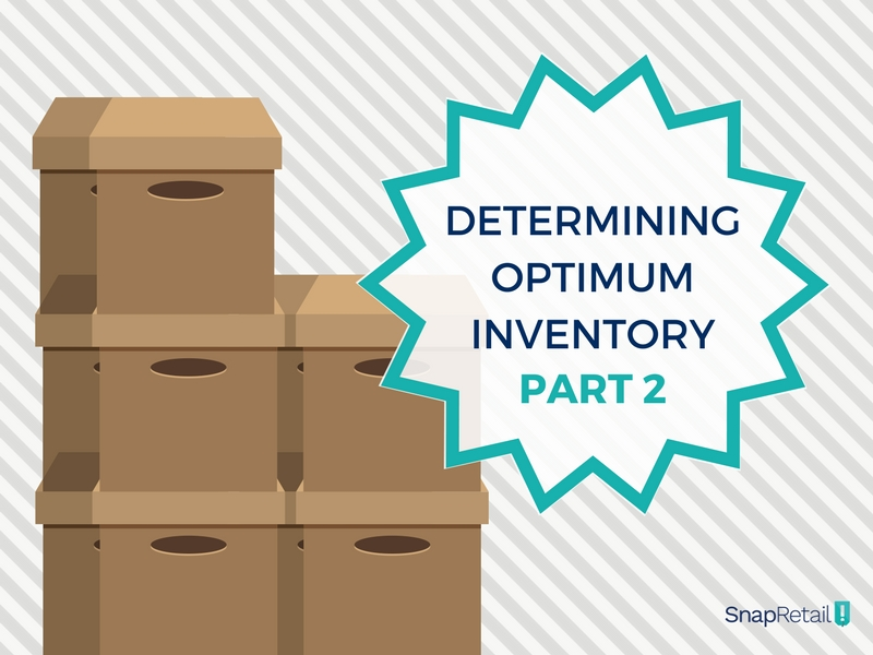 Optimum Inventory Level Boxes