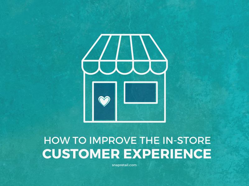 store illustration for customer in-store experience