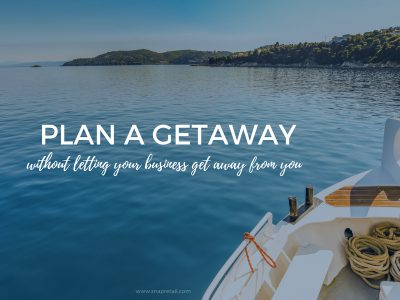 boat vacation for small business owners