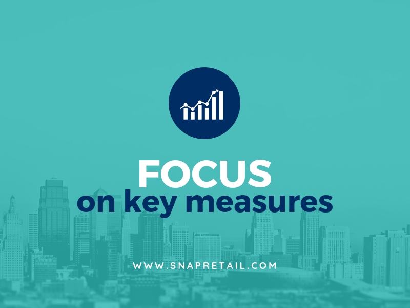 Focus on key measures - snapretail blog