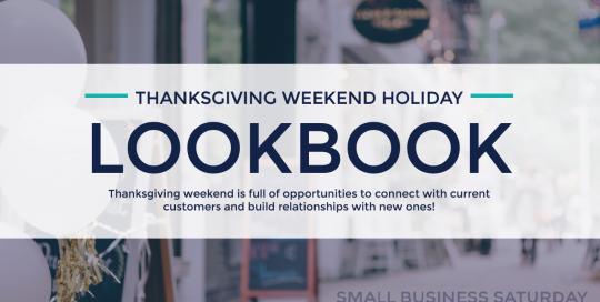 Thanksgiving Holiday Weekend Lookbook 2018
