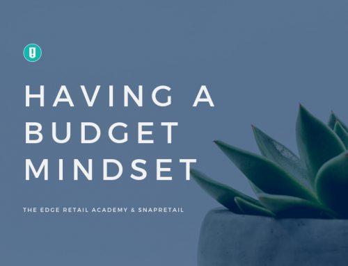 Having a Budget Mindset