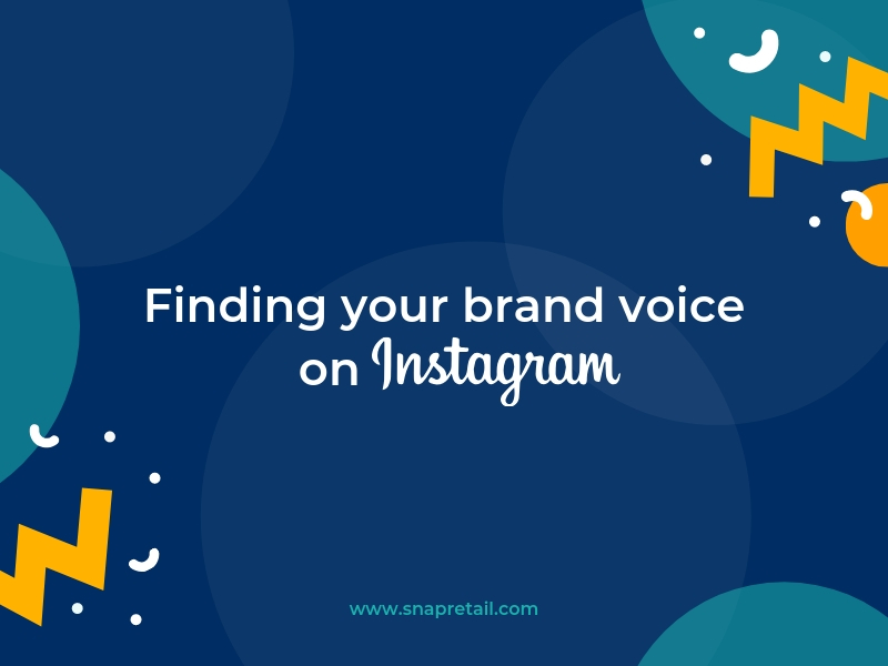 Finding your brand voice on Instagram -Blog Header Image