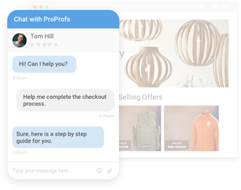 Customer Service Chat Example